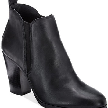 MICHAEL Michael Kors Brandy Round-Toe Ankle Booties - Booties - Shoes - Macy's