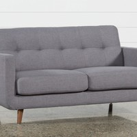 Allie Dark Grey Twin Plus Sleeper Sofa