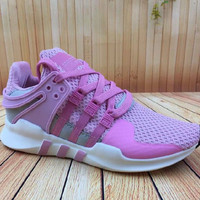 "Women ""Adidas"" Equipment EQT Support ADV Purple Pink Casual Sports Shoes"