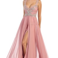 Long Prom Plus Size Dress Formal Gown 2018