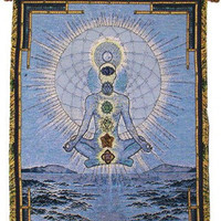 Blue Cosmos - Rod Tapestry