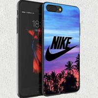 SALE!! Nike.0x0 Sunset Palm Fit Hard Case For iPhone 6 6s 7 8 Plus X Cover +