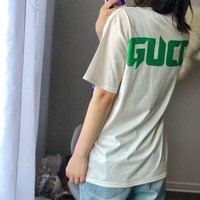 GUCCI T-shirt with cat print