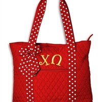 Sassy Sorority | Chi Omega Nancy Tote Bag