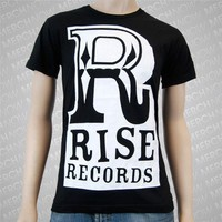Big R Logo Black : Rise Records