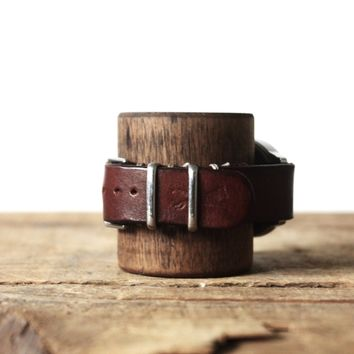 Wolf Hill Brand - Leather watch strap