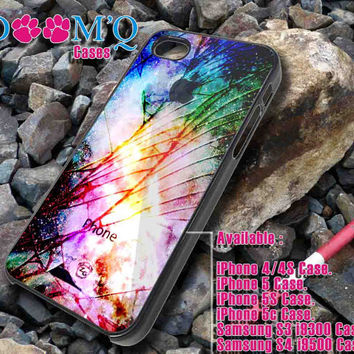 cracked galaxy apple iPhone case, iPhone 4/4S, 5, 5S, 5C Case, Samsung S3, S4 Case By Doomqcases for Accessories beautiful