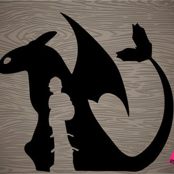 how to train your dragon vinyl decal sticker, free shipping