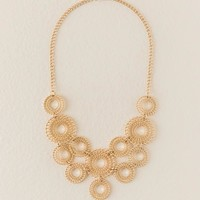 Alivia Filigree Statement Necklace