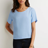 Boxy Textured Top