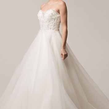 Inexpensive ball gown wedding dress BC#acw2004