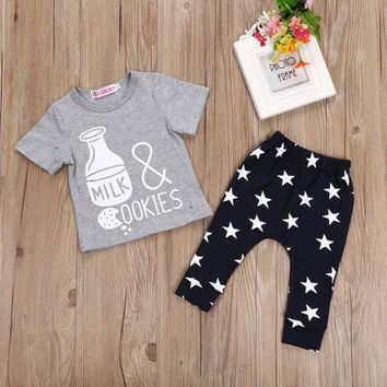 Baby Boys Casual T-shirt Pant 2PC Set