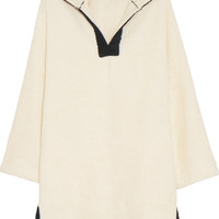 Lisa Marie Fernandez - Hooded cotton-terry beach tunic