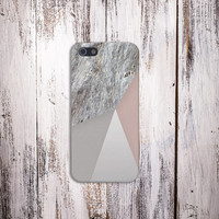 Geometric x Distressed Wood Case for iPhone 5 iPhone 5S iPhone 4 iPhone 4S and Samsung Galaxy S5 S4 & S3