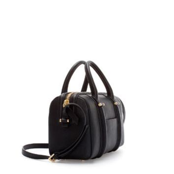 RIGID MINI BOWLING BAG WITH POCKET - Handbags - Woman | ZARA United States