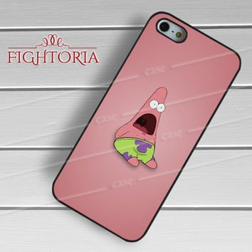 shocking patrick-1nn for iPhone 6S case, iPhone 5s case, iPhone 6 case, iPhone 4S, Samsung S6 Edge