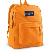 JanSport Classics Series Superbreak Backpack (Orange Team)