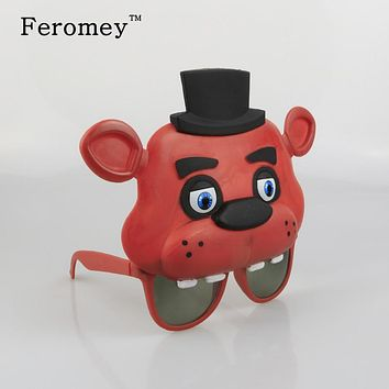 Hot Five Nights At Freddy's Party Mask Action Figure Toys Bonnie Foxy Freddy Bear FNAF Mask Figure Toys Children Kids Toys