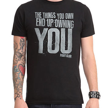 Fight Club Owning You T-Shirt