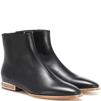 Enrique leather ankle boots