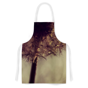 "Ingrid Beddoes ""Droplets of Gold"" Artistic Apron"