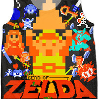 8 Bit Legend Of Zelda Tank Top