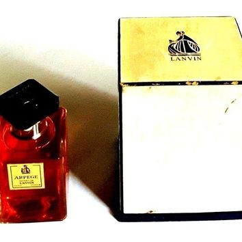 VINTAGE NEW LANVIN ARPEGE PERFUME EXTRAIT DE SPLASH FOR WOMEN PARIS FRANCE 1oz.