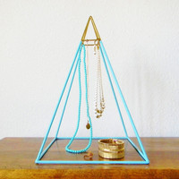 Welded Pyramid Necklace Display - Made to Order