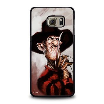 freddy krueger 3 samsung galaxy s6 edge plus case cover  number 1