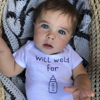 Will Weld for Milk Welder Infant Onesuit