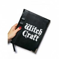 WITCH CRAFT CLUTCH BAG