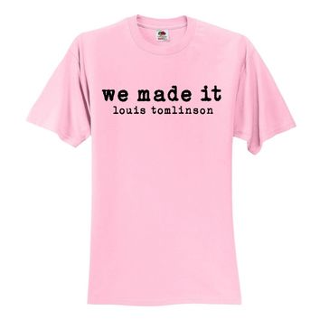 "Louis Tomlinson ""We Made It"" T-Shirt"