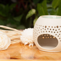 Ceramic Oil Burner/Ceramic Oli Warmer (bubble round)