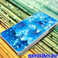 blue flower for iPhone, iPod, Samsung Galaxy, HTC One, Nexus **