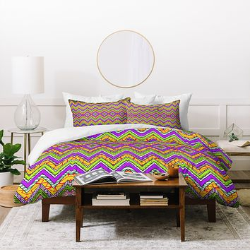 Ingrid Padilla Yellow Whim Duvet Cover