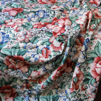 """Gorgeous """"Hyde Park Collection"""" by Mill Creek Fabrics Cotton Upholstery Fabric by-the-yd 53"""" wide Cottage & Shabby Home Decor Sew Fabric"""