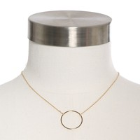 Dylan Skye Open Circle Necklace