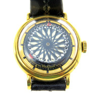 Borel Cocktail Watch Medium Size Unisex Kaleidoscope Illusion