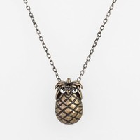 Women's Maison Scotch Pineapple Pendant Necklace