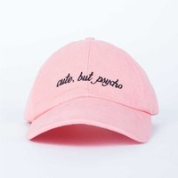 Cute but Psycho Cap