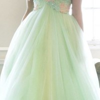 Embellished Empire Gown by Sherri Hill