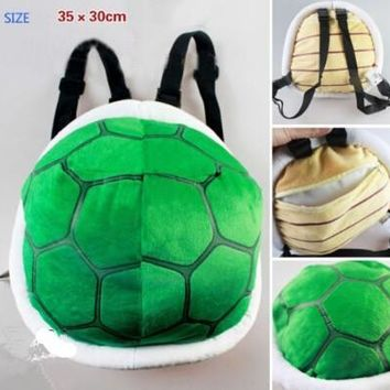 Super Mario party nes switch  Bros. New Plush Bowser Soft Toy Stuffed Tortoise Bag Cute Backpacks AT_80_8