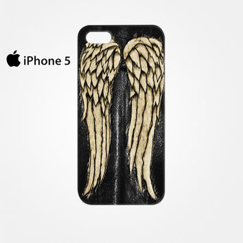 The walking Dead Daryl Dixon Wing for Iphone 4/4S Iphone 5/5S/5C Iphone 6/6S/6S Plus/6 Plus 3D Phone case