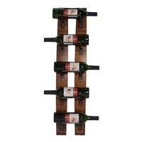 Wall Mounted 5-Bottle Wine Rack