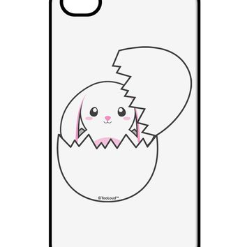 Cute Easter Bunny Hatching iPhone 4 / 4S Case  by TooLoud