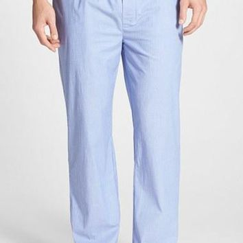 Men's Lacoste 'Service Line' Stretch Cotton Lounge Pants