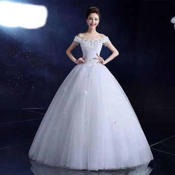 Girls Wedding dresses Romantic Lace Grown with Flower