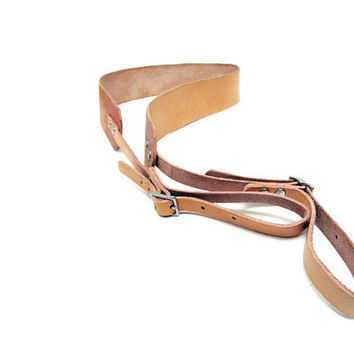 Personalized Leather Camera Strap, DSLR Strap, Camera Neck Sling  Made in USA