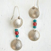 Free People  Clothing Boutique > Vintage Coin Earrings