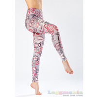Soft Feeling Fashion Printed Leggings